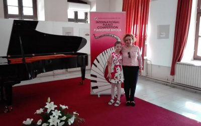 """Учество на првиот меѓународен натпревар во Битола """"Пијанофест"""""""